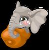 Elephant baby mile1 single