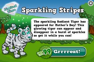 Radiant tiger modal