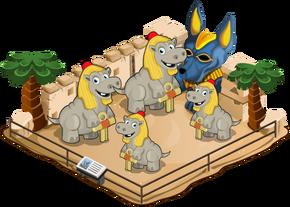 Hippo of taurent family