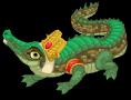Crocodile of sobek single