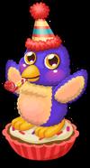 Cupcake penguin single