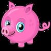 Gum ball pig