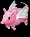 Pink fairy armadillo static
