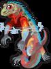 Marine iguana single