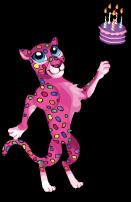 Party cheetah an