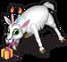 Birthday candle goat single