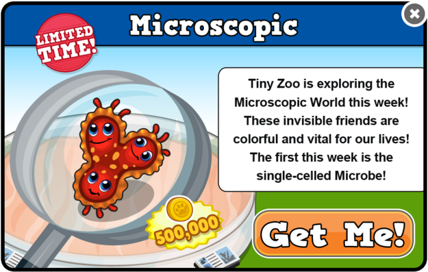 Microbe modal