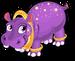 Ringed hippo single
