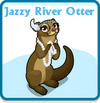 Jazzy river otter card