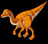 Struthiomimus single