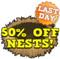 Wild west nest sale last hud
