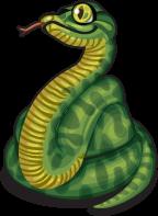 Green anaconda single