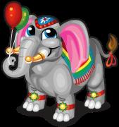 Parade elephant single