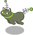 Deep space cat static