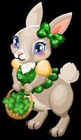 Glitter bunny single