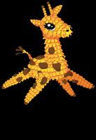 Pinata giraffe an