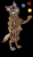 Striped hyena an
