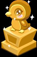 Penguin baby trophy
