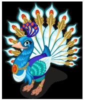 Queen hera peacock single