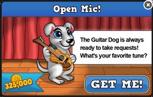 Guitar dog modal