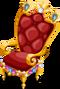 Jeweled throne