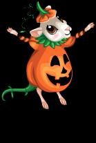 Pumpkin mouse an