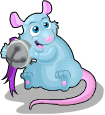 Bell mouse static