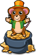 Pot o' gold mouse single