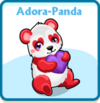 Adora-panda card