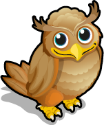 Great Horned Owl single