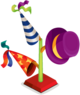 Party hat stand 9000