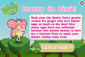 Easter fairy modal