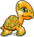 Cubby Turtle Golden single