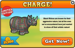 Serengeti rhino modal