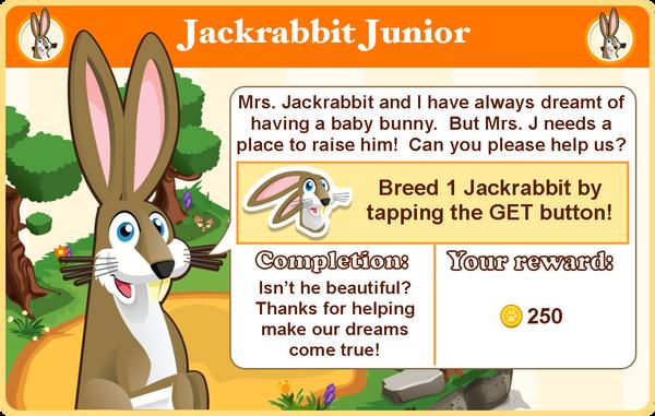 Jack rabbit goal3 modal