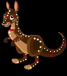 Outback kangaroo static