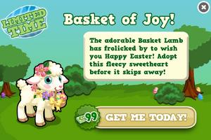 Basket lamb modal