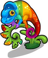 Rainbow chameleon single