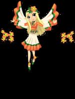 Flower child fairy an