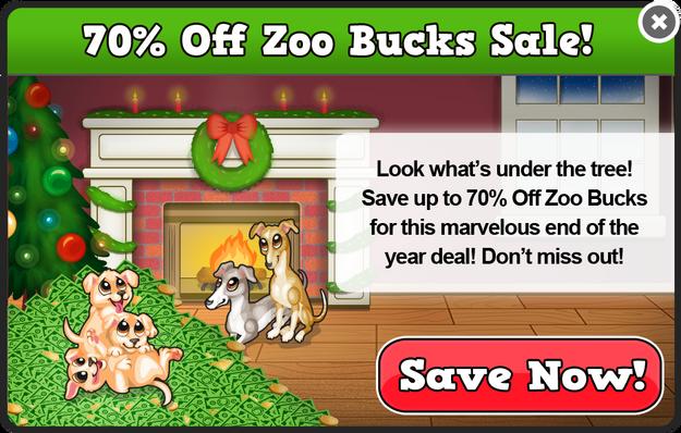 Home for the holidays bucks sale modal