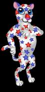 Star spangled leopard an