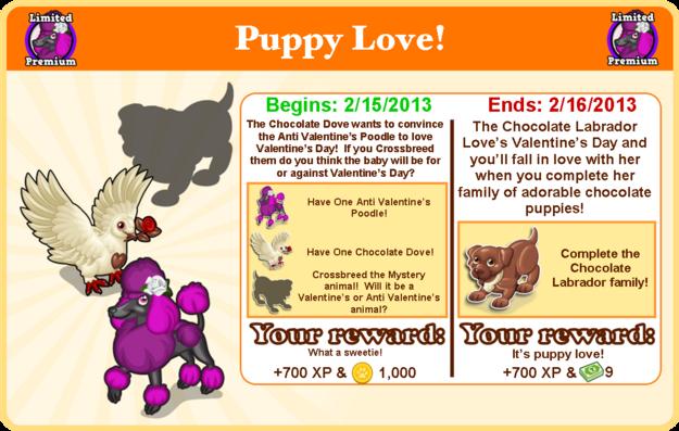Anti valentine's poodle goal modal