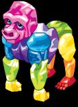 Rock candy gorilla static