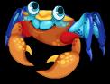 Mongrove crab static