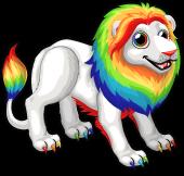 Rainbow lion single