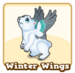 Store winter wings