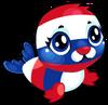 Cubby Seal Patriotic single
