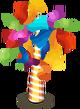 Party confetti tree 2012