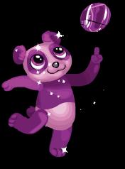 Amethyst panda an