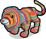 Pinata lion single